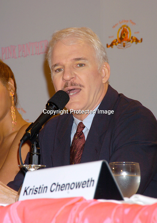 at the Pink Panther start of Production Press Conference on May 7, 2004 at the Waldorf Astoria Hotel.                    Photo by Robin Platzer, Twin Images