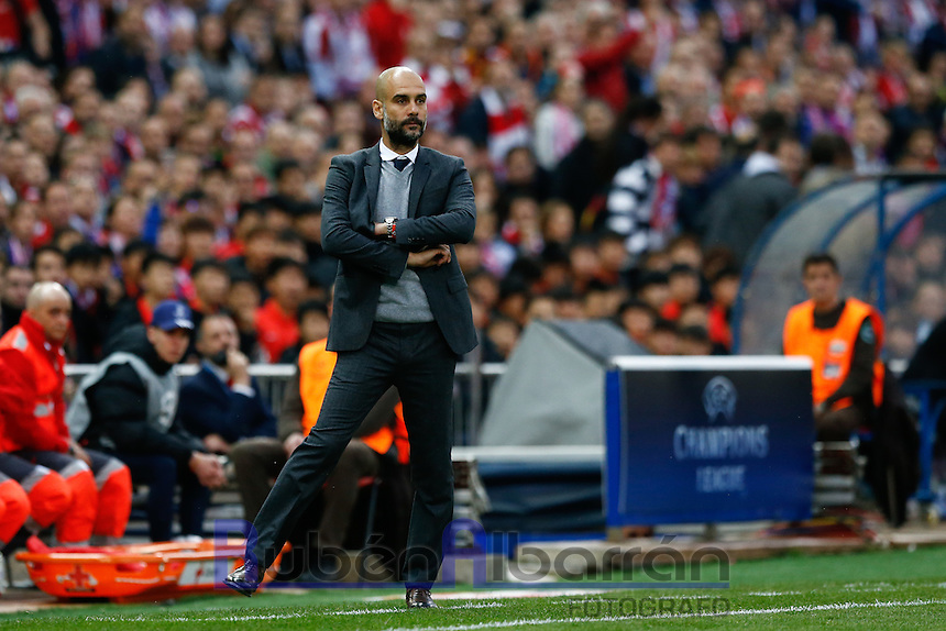 Bayer Munich's coach Josep Guardiola