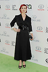 BURBANK, CA- OCTOBER 18: Actress Alison Sudol arrives at the 2014 Environmental Media Awards at Warner Bros. Studios on October 18, 2014 in Burbank, California.