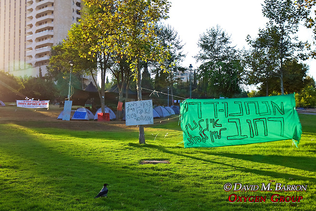 Protest Of Lack Of Places to Live By Homeless People