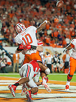 January 3, 2014 - Miami Gardens, Florida, U.S: \  during the Discover Orange Bowl between the Clemson Tigers and the Ohio State Buckeyes at Sun Life Stadium in Miami Gardens, Fl