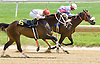 Cat Wiesel winning at Delaware Park on 5/24/12