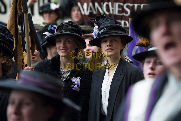 Suffragette (2015) <br /> Anne-Marie Duff &amp; Carey Mulligan <br /> *Filmstill - Editorial Use Only*<br /> CAP/FB<br /> Image supplied by Capital Pictures