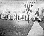 Frederick Stone negative. St. John's Parish house.<br />