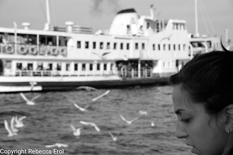Missing a loved one, Istanbul, Turkey