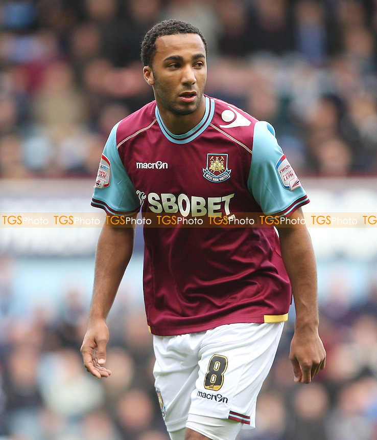 Nicky Maynard of West Ham - West Ham United vs Reading, npower Championship at Upton Park, West Ham - 31/03/12 - MANDATORY CREDIT: Rob Newell/TGSPHOTO - Self billing applies where appropriate - 0845 094 6026 - contact@tgsphoto.co.uk - NO UNPAID USE..