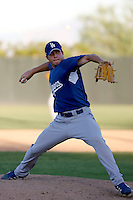 Robert Boothe - Los Angeles Dodgers 2009 Instructional League. .Photo by:  Bill Mitchell/Four Seam Images..