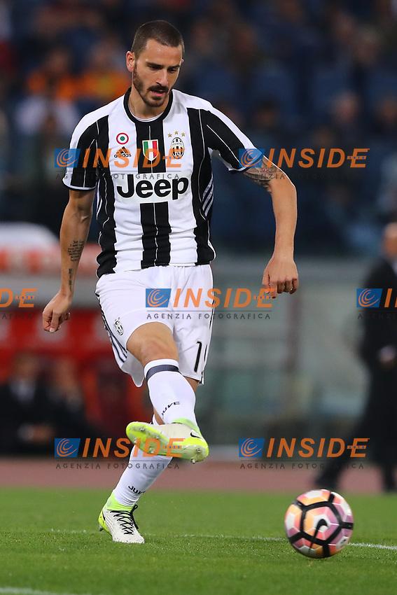 Leonardo Bonucci Juventus<br /> Roma 14-05-2017  Stadio Olimpico <br /> Campionato Serie A AS Roma - Juventus<br /> Foto Cesare Purini / Insidefoto