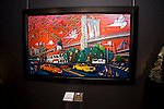 French Art Gallery - Galerie Elysees, hosted an opening in New York City by world-renowned Contemporary Artist - Alain Godon, who unveiled his first American-centric exhibit:  a portrayal of New York City and it's society & culture, through painting.