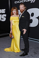 www.acepixs.com<br /> April 8, 2017  New York City<br /> <br /> Gry Molv&aelig;r Hivju and Kristofer Hivju attending 'The Fate Of The Furious' New York premiere at Radio City Music Hall on April 8, 2017 in New York City.<br /> <br /> Credit: Kristin Callahan/ACE Pictures<br /> <br /> <br /> Tel: 646 769 0430<br /> Email: info@acepixs.com