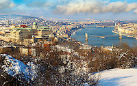 View of Budapest and the Danube, Hungary