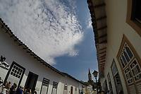 GOIÁS, GO, 13.04.2017 – TURISMO-GOIÁS – Vista da Cidade Goiás (também conhecida como Cidade de Goiás ou Goiás Velho) é um município brasileiro do estado de Goiás. Sua população estimada em 2010 era de 24.727 habitantes de acordo com o IBGE. O município foi reconhecido em 2001 pela UNESCO como sendo Patrimônio Histórico e Cultural Mundial por sua arquitetura barroca peculiar, por suas tradições culturais seculares e pela natureza exuberante que a circunda.(Foto: Ricardo Botelho/Brazil Photo Press)