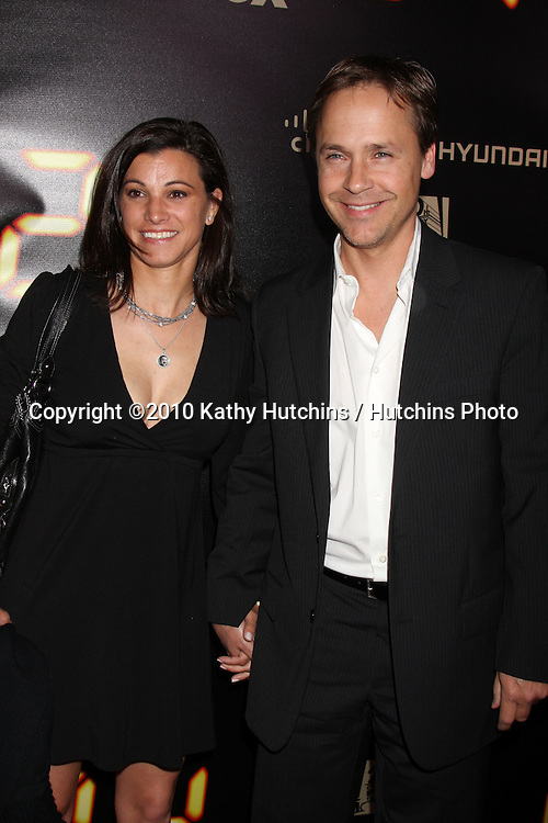 "Chad Lowe & Wife.arrives at the ""24"" Series Finale Party .Boulevard3.Los Angeles, CA.April 30, 2010.©2010 Kathy Hutchins / Hutchins Photo..."