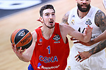 Turkish Airlines Euroleague.<br /> Final Four - Vitoria-Gasteiz 2019.<br /> Semifinals.<br /> CSKA Moscow vs Real Madrid: 95-90.<br /> Nando de Colo.