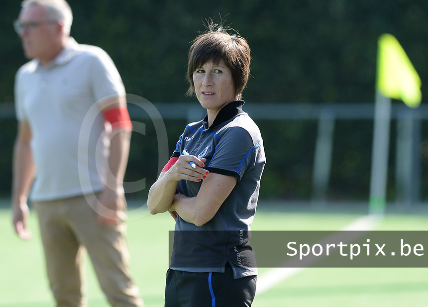 Famkes Westhoek Merkem Diksmuide - Club Brugge Dames A :  Club Brugge Coach Ingrid De Rycke <br /> Foto David Catry | VDB | Bart Vandenbroucke