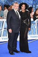Luc Besson &amp; Virginie Besson at the &quot;Valerian and the City of a Thousand Planets&quot; European Premiere at Cineworld Leicester Square, London, UK. <br /> 24 July  2017<br /> Picture: Steve Vas/Featureflash/SilverHub 0208 004 5359 sales@silverhubmedia.com