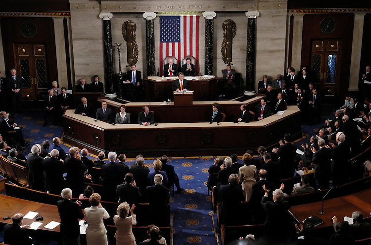 Ukrainian Prime Minister Viktor Yushchenko spoke to a joint session of Congress today, part of his tour in Washington, which included a visit to the White House.