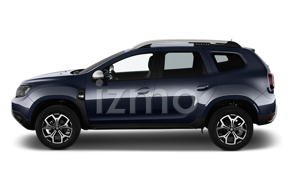 Car driver side profile view of a 2018 Dacia Duster Duster 5 Door SUV