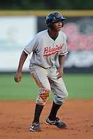 Bluefield Orioles Jonathan Schoop at Pioneer Park in Greenville, Tennessee July 19, 2010.   Greenville won the game 7-6.  Photo By Tony Farlow/Four Seam Images