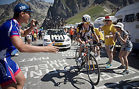 very strong ride of Serge Pauwels (BEL/MTN-Qhubeka) up the Col du Tourmalet (HC/2115m/17km/7.3%)<br /> <br /> st11: Pau - Cauterets (188km)<br /> 2015 Tour de France