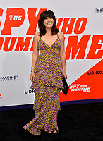 Moniqua Plante at the world premiere for &quot;The Spy Who Dumped Me&quot; at the Fox Village Theatre, Los Angeles, USA 25 July 2018<br /> Picture: Paul Smith/Featureflash/SilverHub 0208 004 5359 sales@silverhubmedia.com