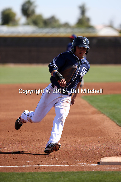 Luis Urias - San Diego Padres 2016 spring training (Bill Mitchell)