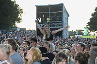 General view of AmpRocks 2018, part of AmpFest, at Ampthill Great Park, Ampthill, England on 29 June 2018. Photo by David Horn.