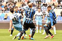 Marco Parolo of Lazio scores goal of 1-0 <br /> Roma 5-5-2019 Stadio Olimpico Football Serie A 2018/2019 SS Lazio - Atalanta <br /> Foto Andrea Staccioli / Insidefoto