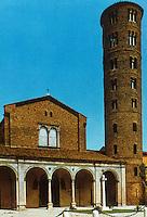 Ravenna: Basilica of Nuovo Sant' Apollinare, 6th century.