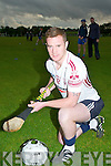 Raymond Galvin capt of the Lixnaw Hurling Team.
