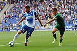 League Santander 2017-2018 - Game: 2<br /> RCD Espanyol vs CD Leganes: 0-1.<br /> David Lopez vs Szymanowki.