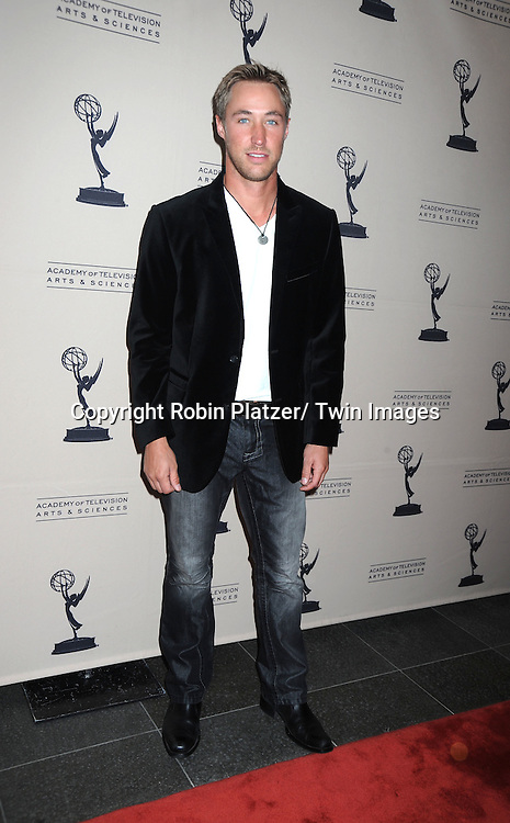 Kyle Lowder attending the Television Academy's Daytime Programming Peer Group presents a cocktail reception in honor of the 2011 Daytime Emmy Awards Nominees on June 16, 2011 .at The SLS Hotel at Beverly Hills in California.