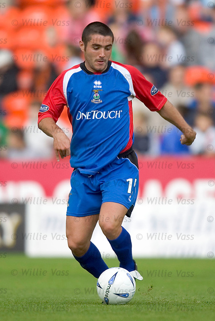 Liam Keogh, Inverness Caledonian Thistle.stock season 2004-2005.pic willie vass