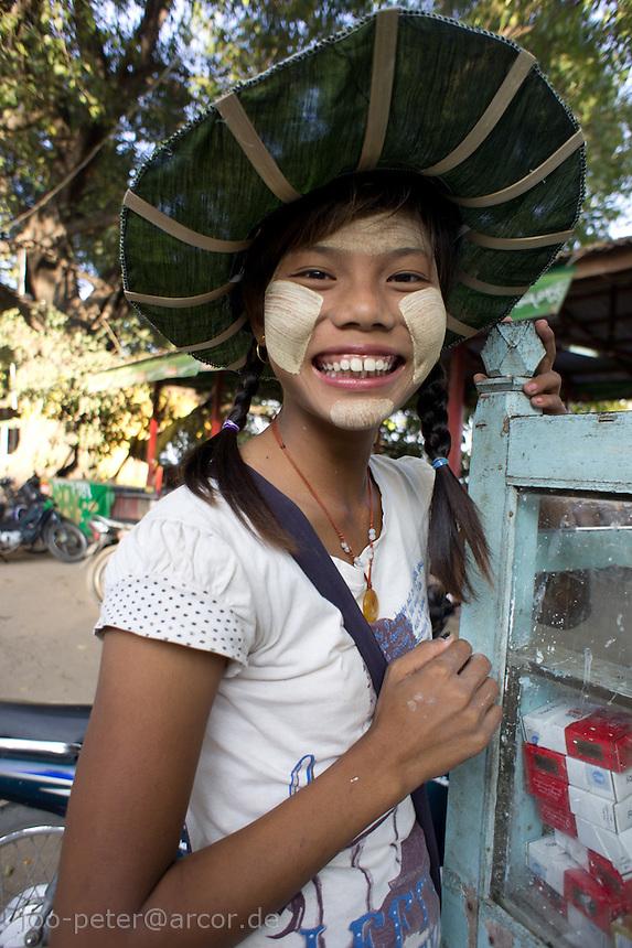 girl in Amarapura,  Mandalay, Myanmar, 2011