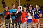 Going head to head, parish against parish are boxers from Mountcollins GAA and Fr Casey's GAA who will be holding a white collar boxing event in Abbeyfeale at 8.00pm on Saturday 23rd March, pictured l-r was Andrew Murphy, Joseph Flaherty, Mary Dillane, Maura Collins, Seamus Lenihan and Batt Dillane.