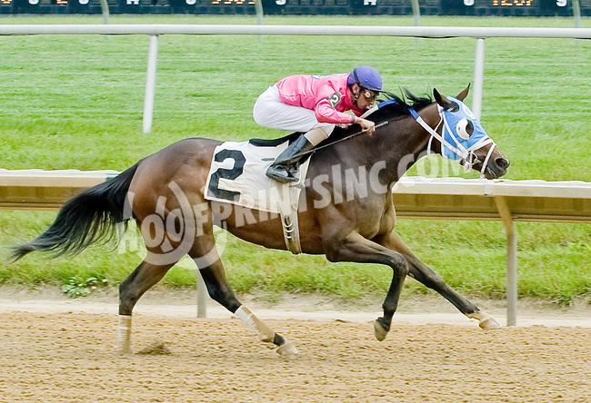 Loving Redemption winning at Delaware Park on 6/6/12