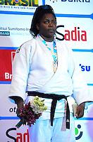 RIO DE JANEIRO, RJ,31 DE AGOSTO DE 2013 -CAMPEONATO MUNDIAL DE JUDÔ RIO 2013- A cubana Idalys Ortiz conquistou a medalha de ouro na categoria +78kg no Mundial de Judô Rio 2013, no Maracanazinho de 26 de agosto a 01 de setembro, zona norte do Rio de Janeiro.FOTO:MARCELO FONSECA/BRAZIL PHOTO PRESS