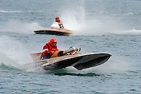 "S-103 ""The Judge"", 145 class hydroplaneA-41 Brian Joseph, ""Something Special"", 1986 Lauterbach 2.5 Mod class hydroplane..10-12 July, 2009, 100th Gold Cup, Detroit River, Detroit, MI USA..©2009 F.Peirce Williams, USA."