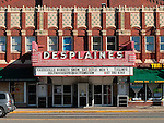 DesPlaines Theatre on Miner St. in DesPlaines, IL.