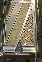 New York: Chrysler Building--entrance detail. Photo '78.