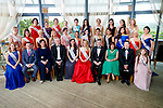 The Kerry Rose Contestants with the Judges, Daithai O'Se and Anthony O'Gara at the Kerry Rose Selection at Ballyroe Heights Hotel on Friday Night.