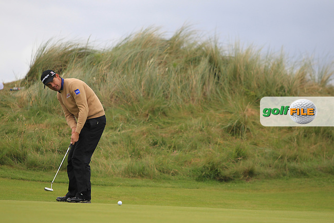 Padraig Harrington (IRL) on Day 3 of the 2012 Irish Open at Royal Portrush Golf Club, Portrush, Co.Antrim, 30/6/12...(Photo Jenny Matthews/www.golffile.ie)