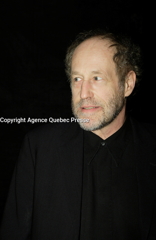 Montreal (Qc) CANADA - March 29 2009 - Jutras award  Gala (for Quebec Cinema) :  Gabriel Arcand