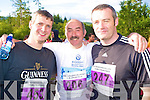 Enjoying the start of the Maxi Marathon held in Killarney on Saturday were John Bennett, Con Canty and Jason Collins...