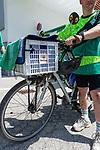 06.07.2019, Parkstadion, Zell am Ziller, AUT, TL Werder Bremen - Tag 03<br /> <br /> Von Bremen mit dem Rad ins Zillertal - auch ein Gabelbruch kurz vor Hannover konnte ihn nicht stoppen.<br /> <br /> Nach 870 km auf dem Rad in acht Tagen _ davon drei Tage Zwangspause in Hannover kam der Werder Fan Maik Kuntze erschöpft und vom Sturz gekennzeichnet in Zell am Ziller an. Seine ersten Worte - ich brauche nun erstmal eine Dusche - und wie bekomme ich mein Rad wieder nach Hause.<br /> <br /> Da der Gabelbruch einiges aus der Reisekasse gekostet hat, sammelten sofort Fan Mitglieder einen ansehnlichen dreistelligen Betrag<br /> <br /> im Bild / picture shows <br /> <br /> Maik Kuntze und seine kaputten Beine<br /> <br /> <br /> Foto © nordphoto / Kokenge