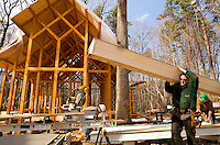 Chapel construction in Belmont, NC.