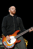 Linkin Park - bass player David 'Phoenix' Farrell performing live on Day Two on the main stage at the Download Festival 2007 held at Donington Park Leicestershire UK - 09 Jun 2007.  Photo Credit: Ben Rector/IconicPix