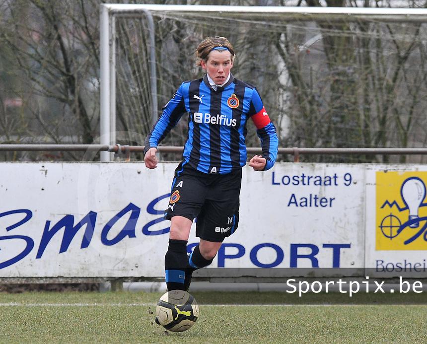 Club Brugge Dames : Angelique De Wulf.foto DAVID CATRY / Vrouwenteam.be