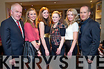 Minister Jimmy Deenihan, finalists of Kerry Designer catagory Catherine Kelly, Carol Kennelly, Orla O'Connor and organisers Orla Diffley and Paul Ruane, pictured at the launch of the Kerry Fashion Weekend, which took place in the Roast House restaurant, Tralee on Monday evening.