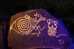 Spirit Creatures, Three Rivers Petroglyph Site, New Mexico